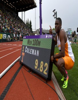 Christian Coleman Turns Pro and Signs with HSInternational