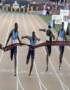 Christian Coleman Laser-Focused on 100m Dash at IAAF World Championships